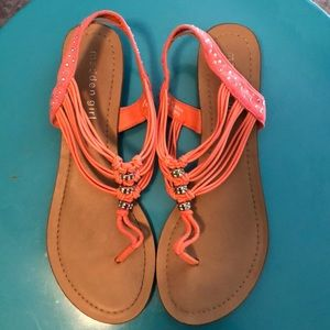 Madden Girl Strappy Sandals - Size 7 1/2